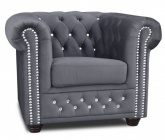 F-RP-ROY BL Fotel chesterfield