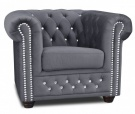F-RP-ROY BL Fotel chesterfield 1